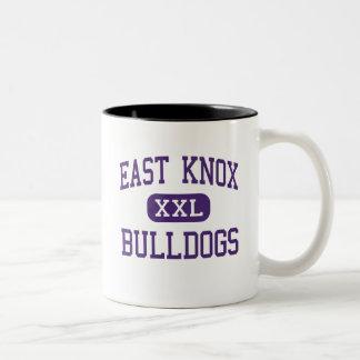 East Knox - Bulldogs - High School - Howard Ohio Two-Tone Coffee Mug