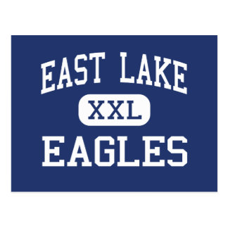 East Lake - Eagles - High - Tarpon Springs Florida Postcard