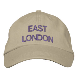 East London Cap Embroidered Hats