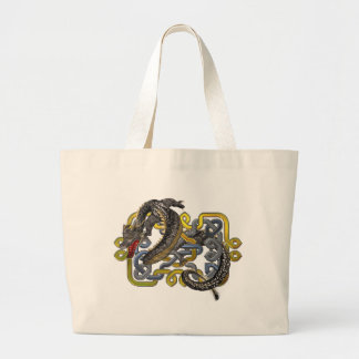 East meets Celtic Large Tote Bag