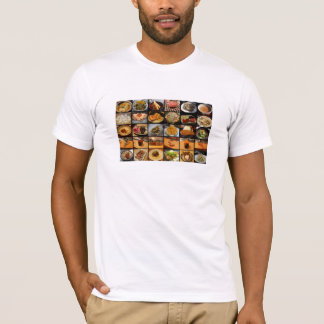 East meets East: Food Collage 2 T-Shirt