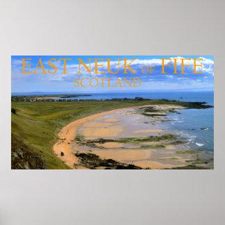 East Neuk of Fife, Scotland Poster