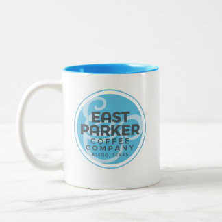 East Parker Round Logo Coffee Mug Cup