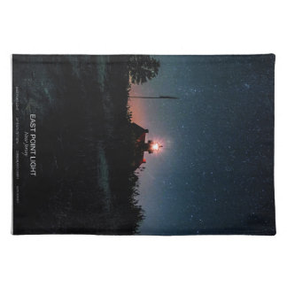 East Point Light - New Jersey. Cloth Placemat