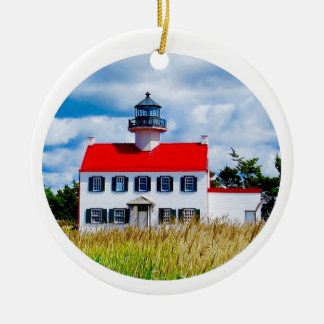 East Point Lighthouse Ceramic Ornament