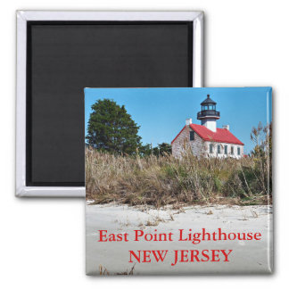 East Point Lighthouse, New Jersey Magnet