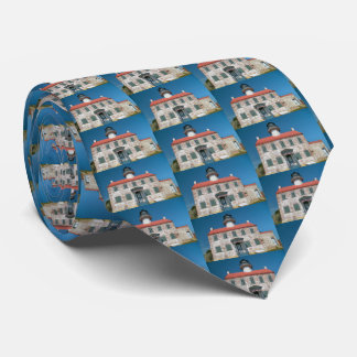 East Point Lighthouse, New Jersey Mens Tie