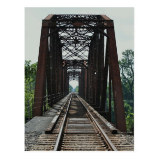 East Rail Road Bridge Postcard