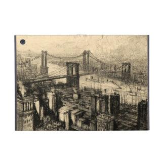 East River Bridges New York City Vintage iPad Mini Case