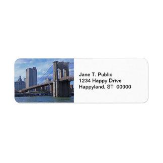 East River: Brooklyn Bridge & Municipal Building