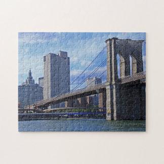 East River: Brooklyn Bridge & Municipal Building Puzzles