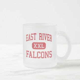 East River - Falcons - High - Orlando Florida Frosted Glass Coffee Mug