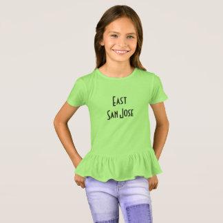 East San Jose in angular retro letters T-Shirt