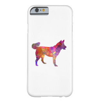 East Siberian Laika in watercolor Barely There iPhone 6 Case