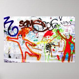 East Side Gallery, Berlin Wall, Graffiti (2) Poster