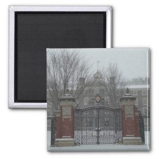 East Side Providence, Rhode Island Winter Scene Magnet