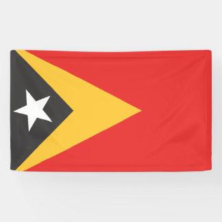 East Timor Flag Banner