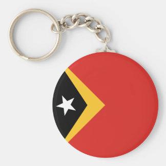 East Timor Flag Basic Round Button Keychain