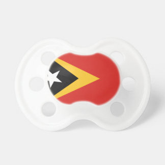 East Timor Flag Booginhead Pacifier