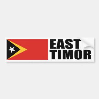 East Timor Flag Bumper Sticker
