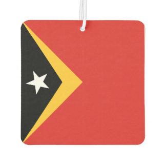 East Timor Flag Car Air Freshener