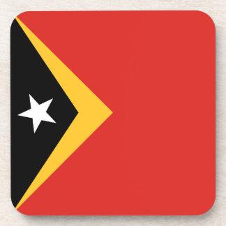 East Timor Flag Coaster