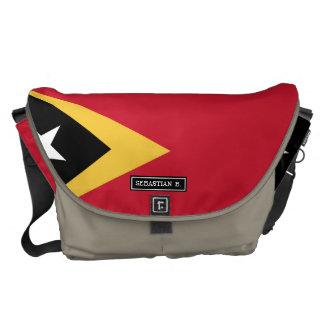 East Timor Flag Commuter Bag