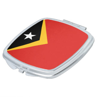 East Timor Flag Compact Mirrors