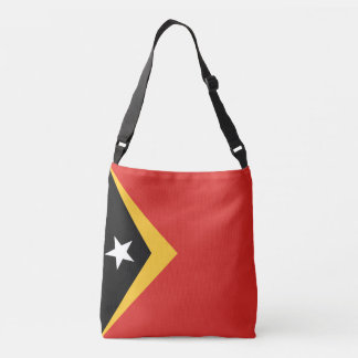 East Timor Flag Crossbody Bag