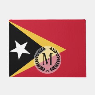 East Timor Flag Doormat