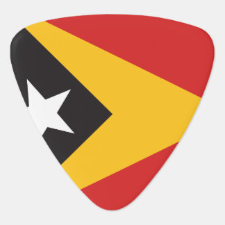 East Timor Flag Guitar Pick