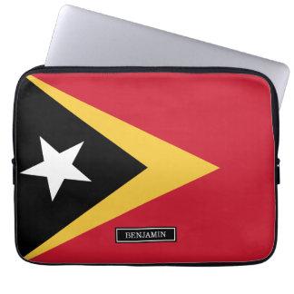 East Timor Flag Laptop Sleeve