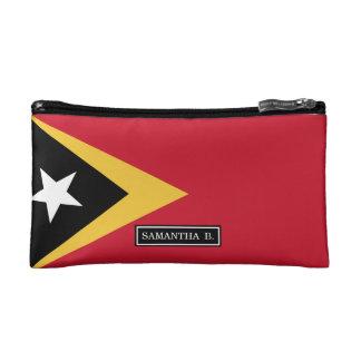 East Timor Flag Makeup Bag