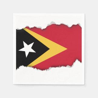 East Timor Flag Napkin