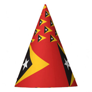 East Timor Flag Party Hat