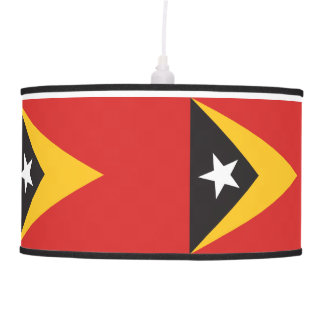 East Timor Flag Pendant Lamp