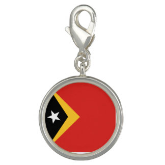 East Timor Flag Photo Charm