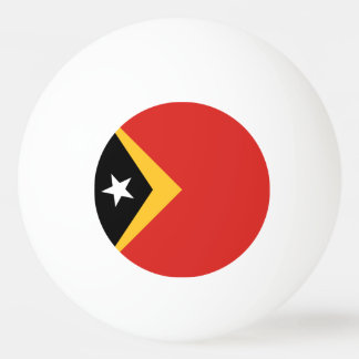 East Timor Flag Ping-Pong Ball
