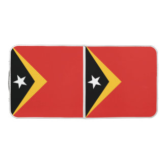 East Timor Flag Pong Table