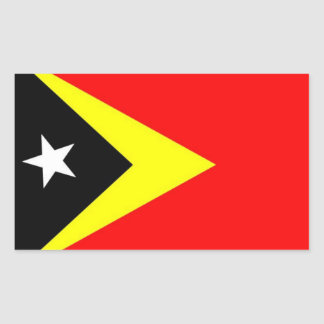 East Timor Flag Sticker