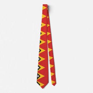 East Timor Flag Tie