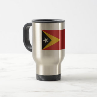 East Timor Flag Travel Mug