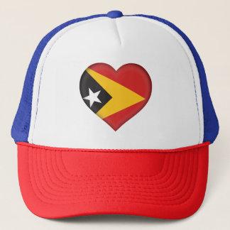 East Timor Flag Trucker Hat