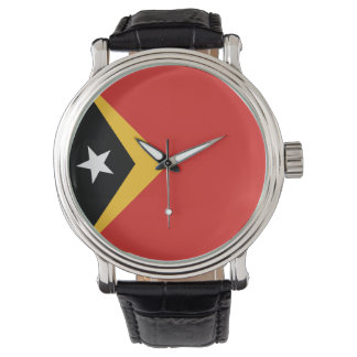 East Timor Flag Wristwatches