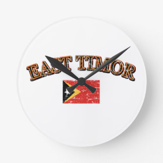 East Timor football design Round Clock