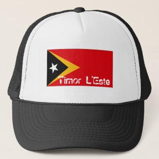 East Timor L'Este flag souvenir hat