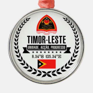 East Timor Metal Ornament