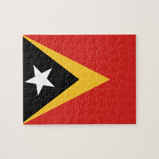 East Timor National World Flag Jigsaw Puzzle