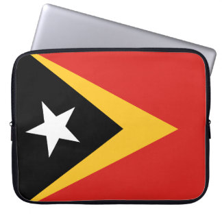 East Timor National World Flag Laptop Sleeve