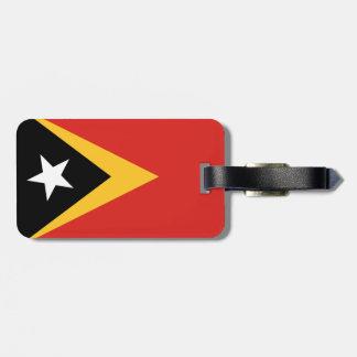 East Timor National World Flag Luggage Tag